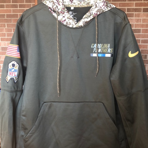 100% authentic 7a073 b61c1 Nike Panthers Salute to Service sweatshirt